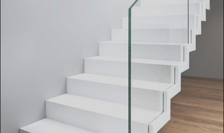 White Contemporary Stairs Fresh St885 White Zigzag Stairs Modern Staircase Other