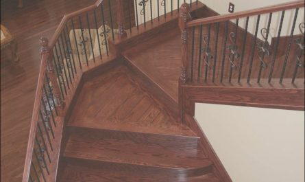 Wooden Stairs and Landings Lovely Stair Railing Remodels Custom Woodworking Fireplace