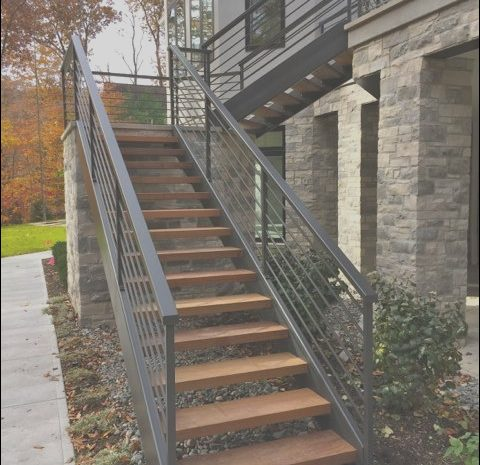 12 Cheerful Wooden Stairs Exterior Collection