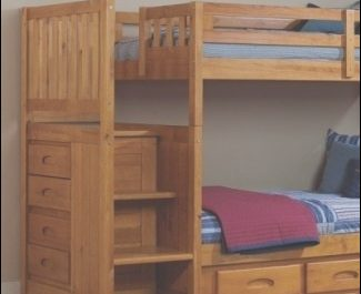 Wooden Stairs for Bunk Bed Luxury solid Wood Bunk Beds with Stairs Ideas On Foter
