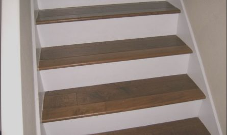 Wooden Stairs White Risers Elegant White Risers W Wood Stairs for the Home