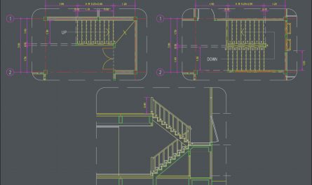 Autocad Stairs Design Luxury Pin On Cad Drawing