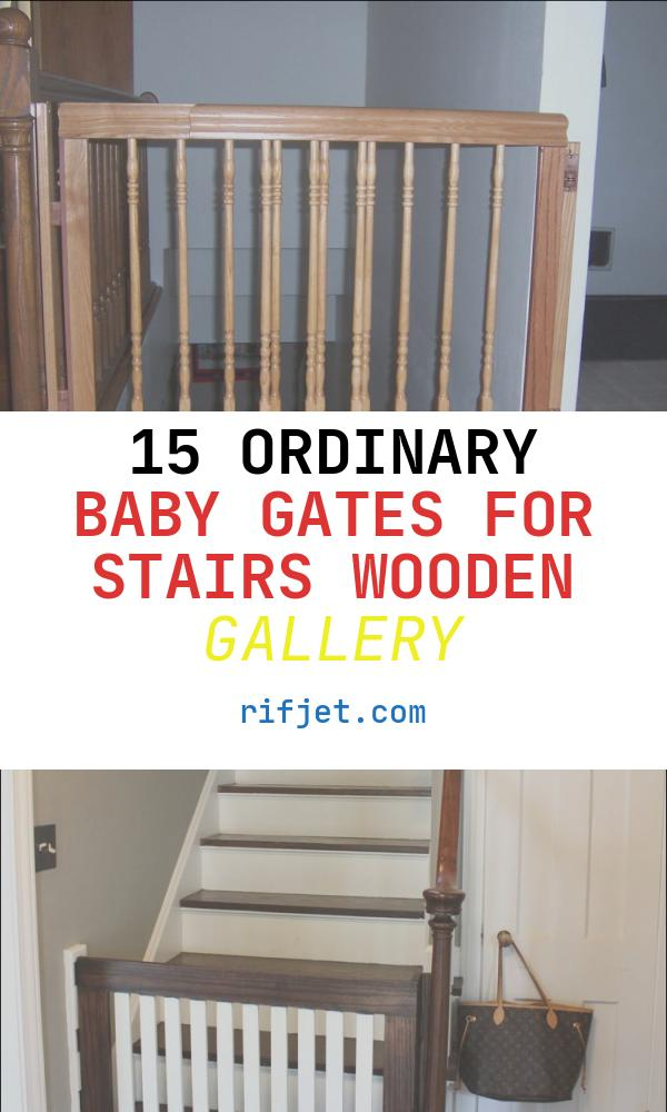 Baby Gates for Stairs Wooden Luxury the Best Baby Gate for top Of Stairs Design that You Must
