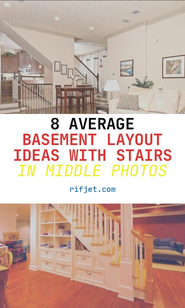 Basement Layout Ideas with Stairs In Middle Fresh Stairs In Middle Of Open Concept