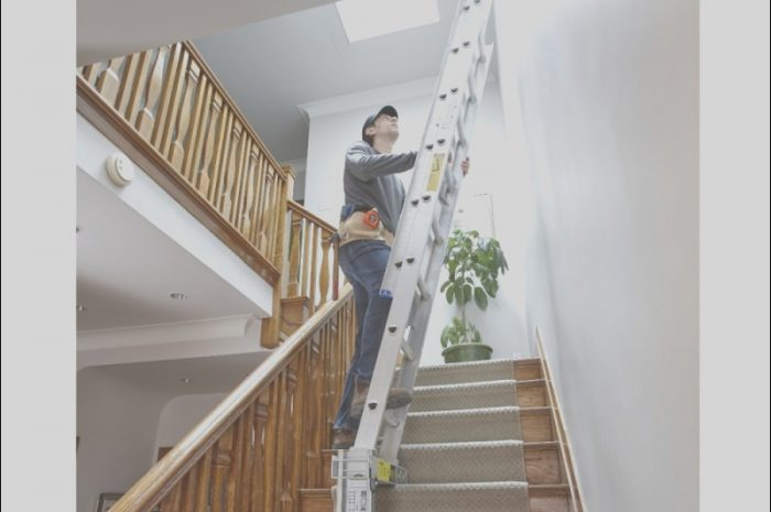 15 Classy Best Ladders for Decorating Stairs Stock