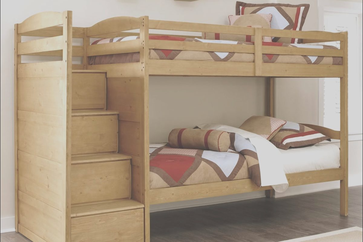 Bunk Beds with Stairs ashley Furniture Fresh Broffin B505 Twin Over Twin Size Bunk Bed