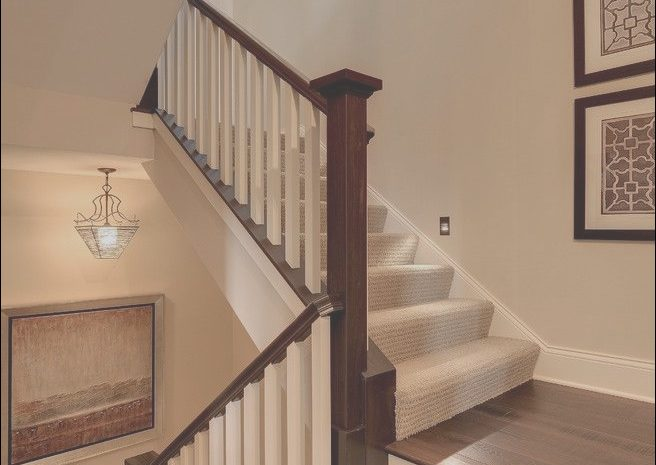 8 Modest Carpet Stairs Wooden Landing Image