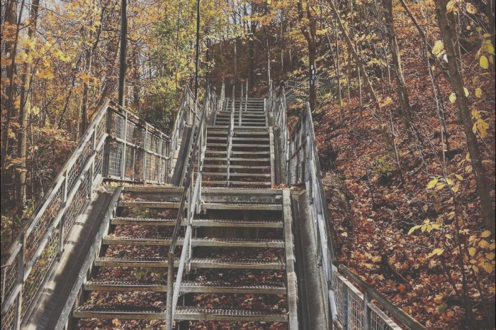 15 Premium Chedoke Stairs Parking Stock