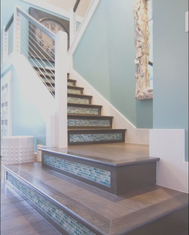 Coastal Decor Stairs Inspirational Transitional Beach House Home Bunch Interior Design Ideas