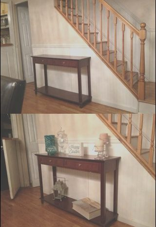 12 Present Console Table In Front Of Stairs Gallery