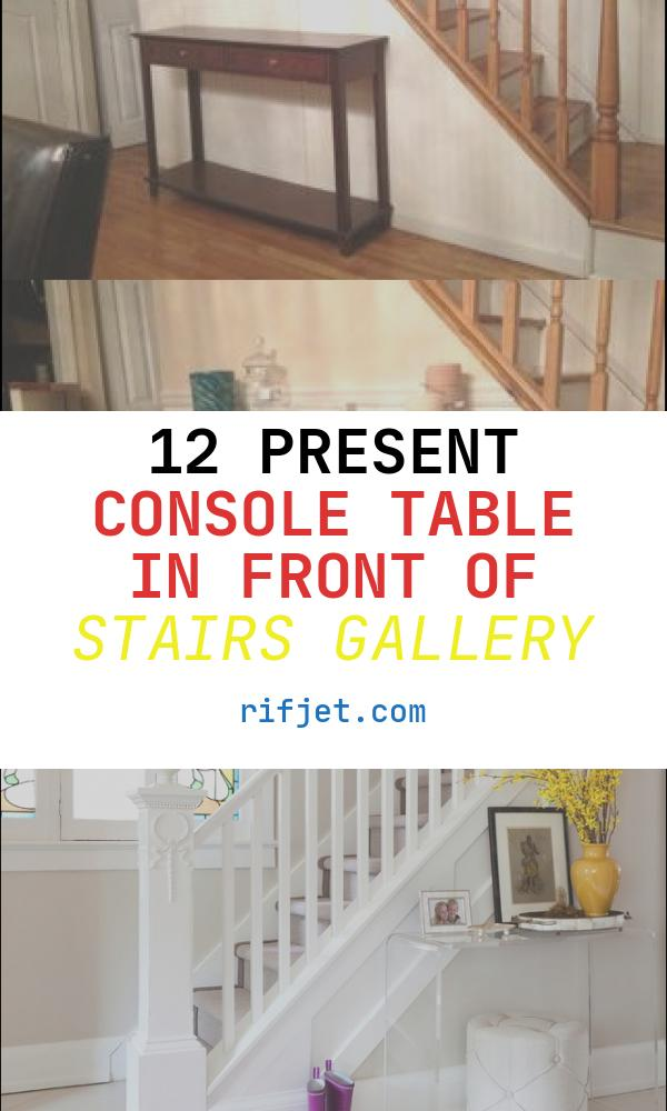 Console Table In Front Of Stairs Lovely Entryway Stairs Entry Tables and Console Tables On Pinterest