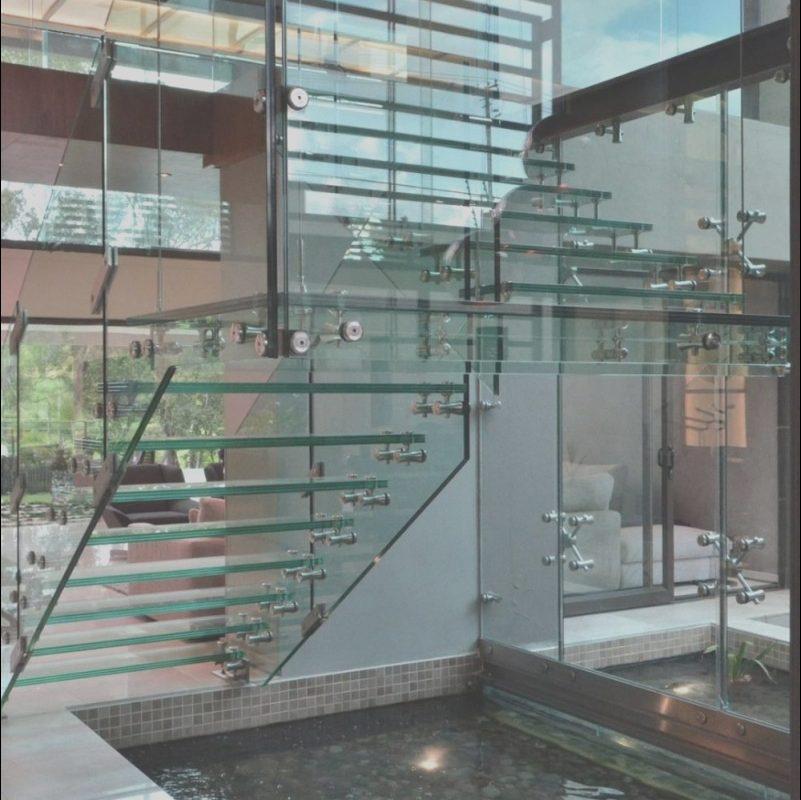Contemporary Glass Stairs Unique 21 Beautiful Modern Glass Staircase Design