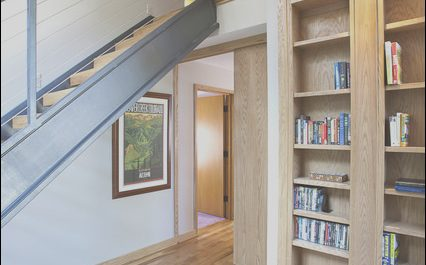 Contemporary Loft Stairs Elegant orchard Lake Loft Stairs Contemporary Staircase
