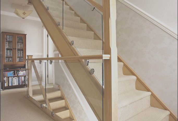 13 Excellent Contemporary Oak and Glass Stairs Image