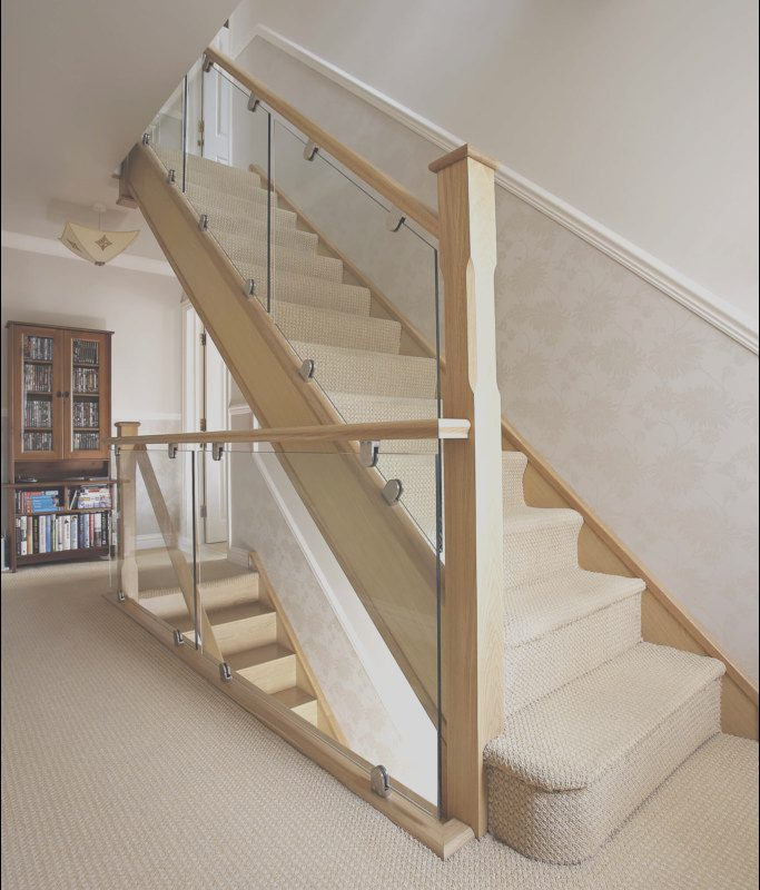 Contemporary Oak and Glass Stairs Unique Modern Oak and Glass Staircase Neville Johnson