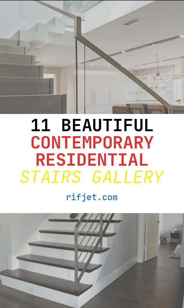 11 Beautiful Contemporary Residential Stairs Gallery