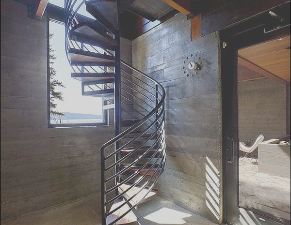 8 Marvelous Contemporary Spiral Stairs Stock