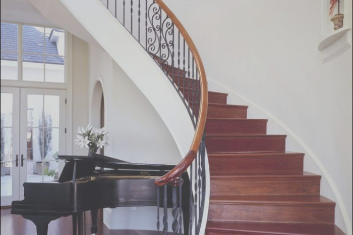 10 Liveable Curved Stairs Design Gallery