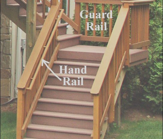 10 Gorgeous Deck Stairs Handrail Ideas Image