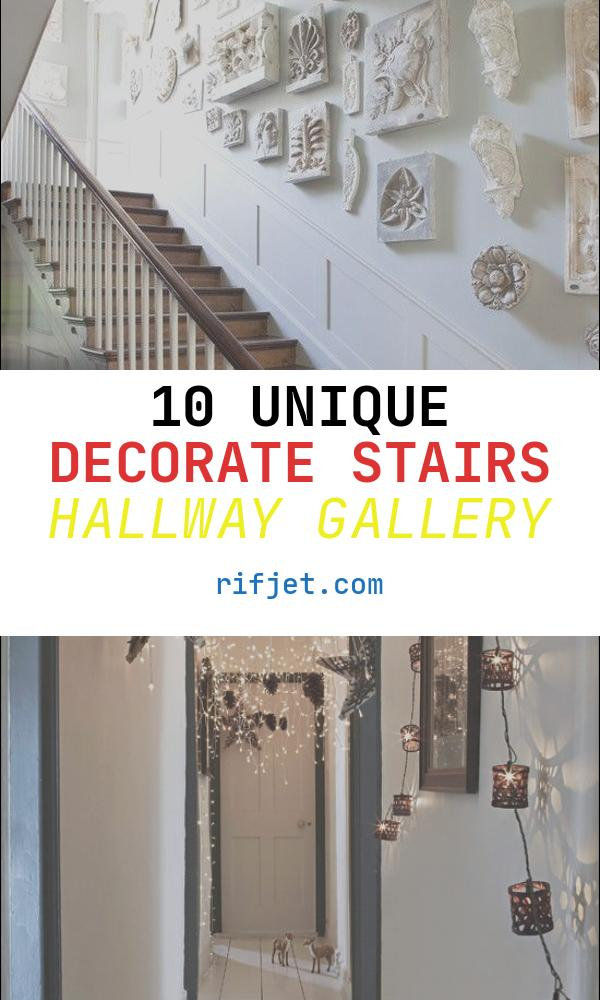 Decorate Stairs Hallway Luxury Chic Ways to Decorate Your Staircase Wall Noted List