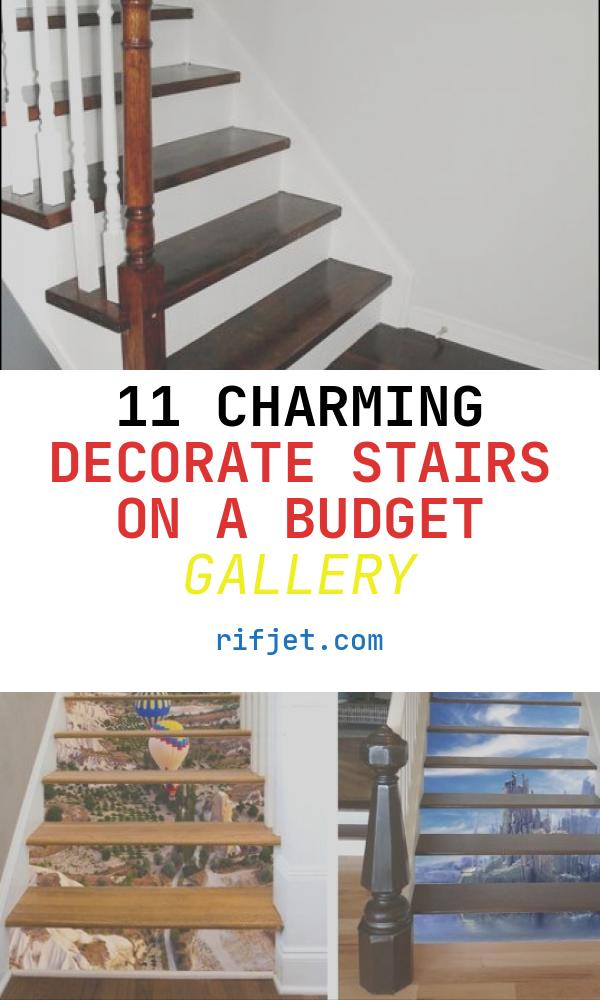 Decorate Stairs On A Budget Lovely Salttree Staircase Makeover On A Bud