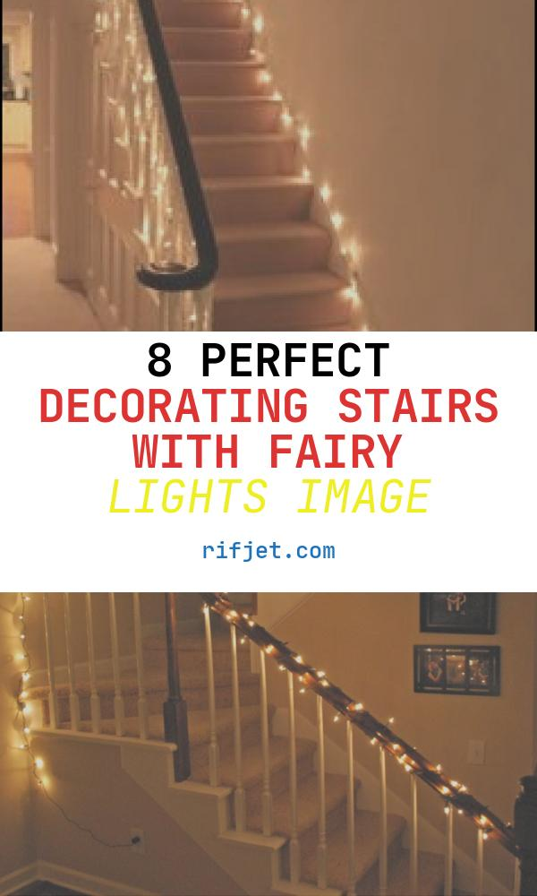 8 Perfect Decorating Stairs with Fairy Lights Image