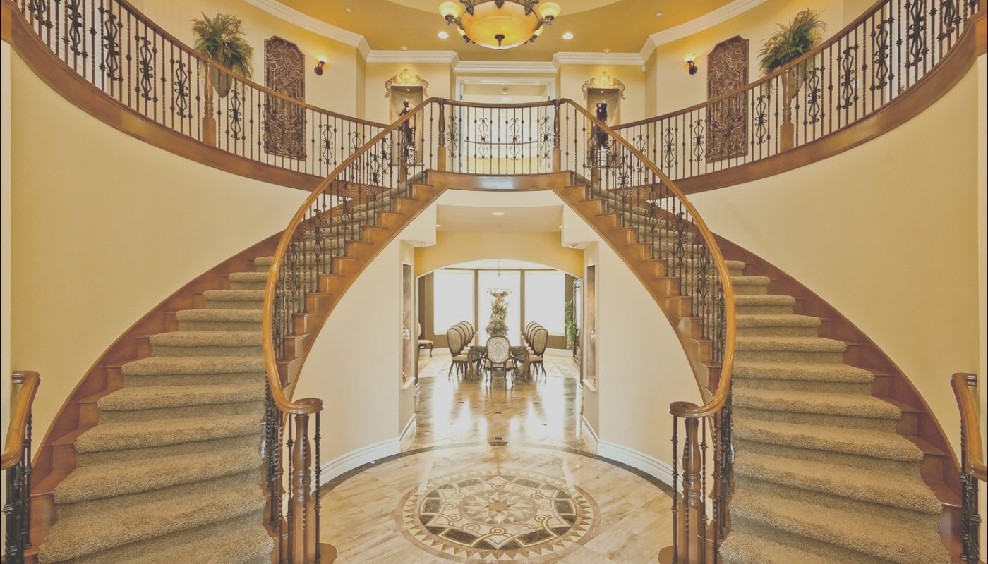 Double Stairs Design Awesome Double Staircase