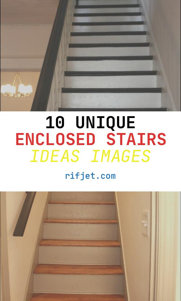 Enclosed Stairs Ideas New Enclosed Staircase Ideas Google Search
