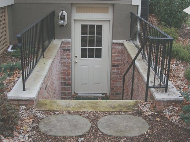 10 Fantastic Exterior Basement Stairs Ideas Photos