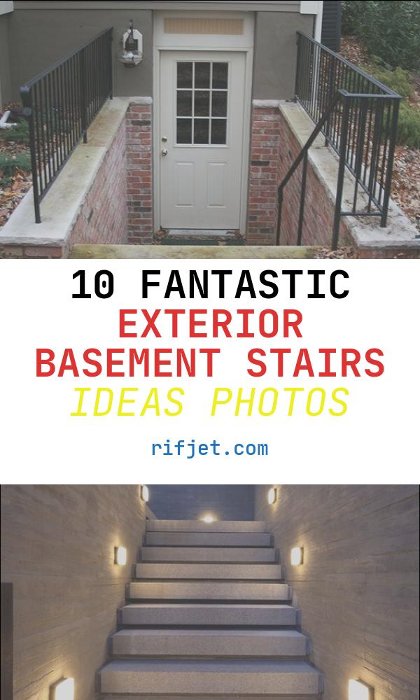 Exterior Basement Stairs Ideas Beautiful Outside Basement Entrance Doors