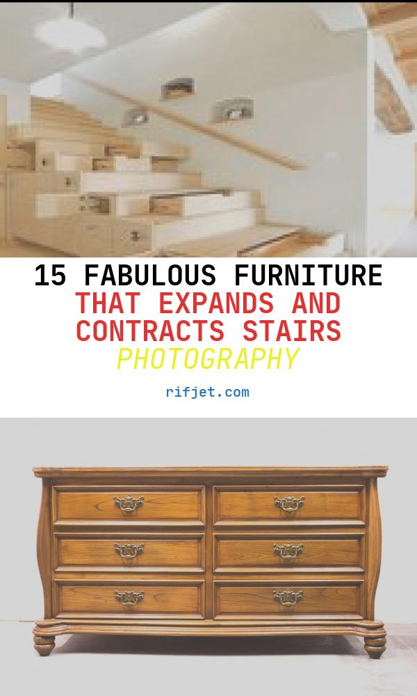 15 Fabulous Furniture that Expands and Contracts Stairs Photography
