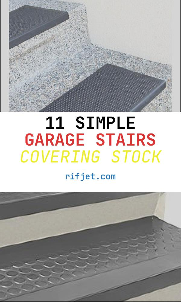 Garage Stairs Covering Beautiful Rubber Stair Tread Maybe to Dress Up the Boring Stairs