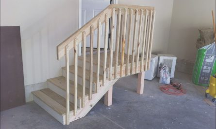 Garage Stairs Landing Fresh Chad S Workshop Getting Close