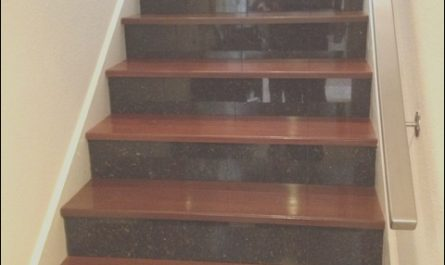 Granite Stairs Design Lovely Cherry Wood and Granite Stairs