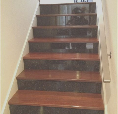 10 Terrific Granite Stairs Design Stock