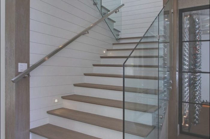 11 Various House Stairs Glass Photos