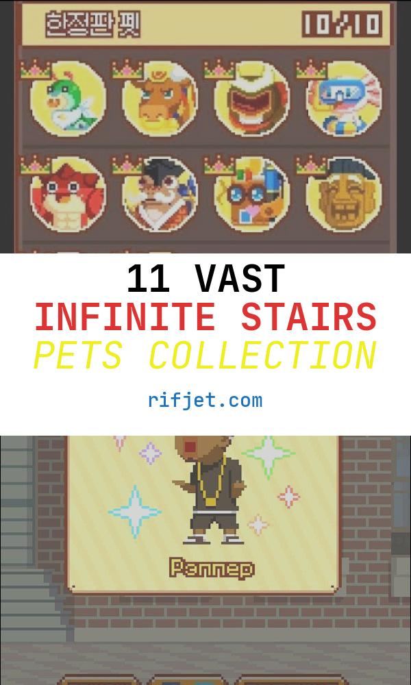 11 Vast Infinite Stairs Pets Collection
