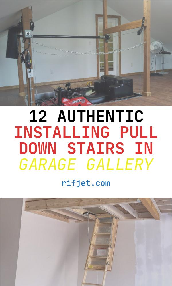 Installing Pull Down Stairs In Garage Beautiful attic Pull Down Stairs Heavy Duty • attic Ideas