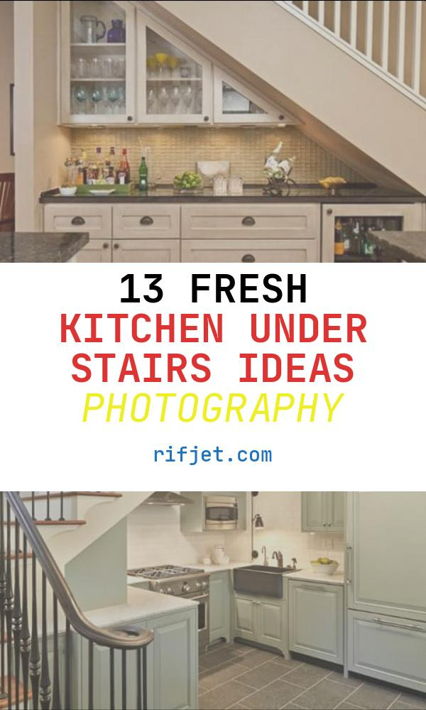 Kitchen Under Stairs Ideas Awesome 19 Space Saving Under Stairs Kitchens You Need to See