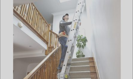 Ladders for Decorating Stairs and Landing Awesome Ladders for Decorating Hallway and Stairs