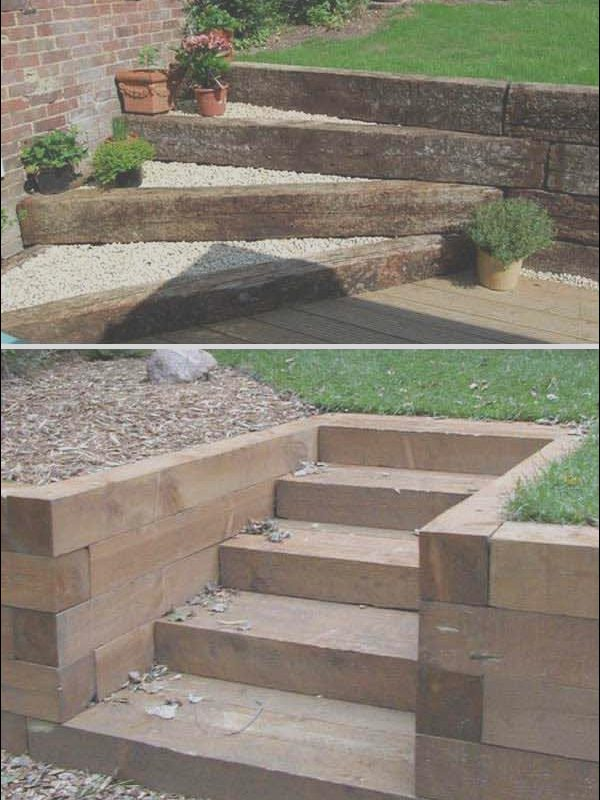 Landscape Stairs Ideas Awesome the Best 23 Diy Ideas to Make Garden Stairs and Steps
