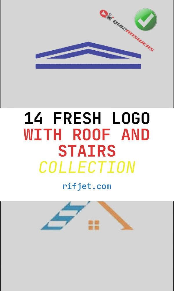 14 Fresh Logo with Roof and Stairs Collection