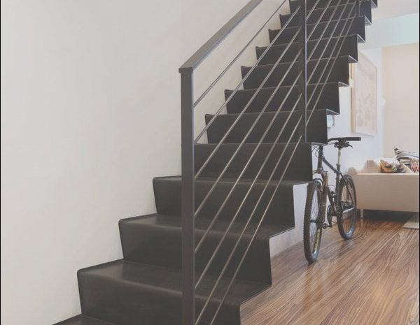 12 Genuine Metal Stairs Interior Stock