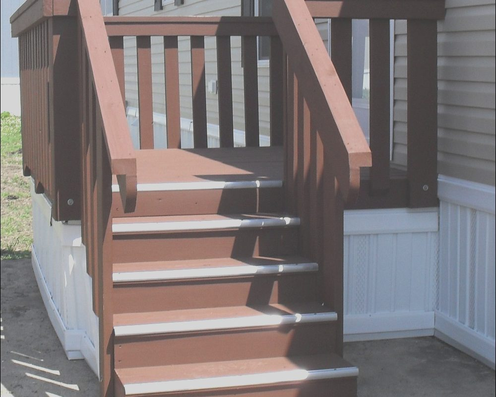 Mobile Home Stairs Wooden Awesome Concrete Stairs for Mobile Homes – Staircase Design