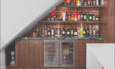 Modern Bar Under Stairs Unique 20 Small Home Bar Ideas and Space Savvy Designs