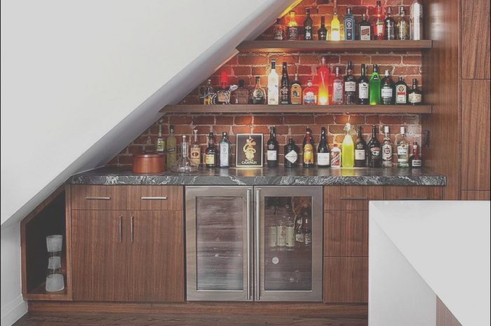 13 Exotic Modern Bar Under Stairs Photos