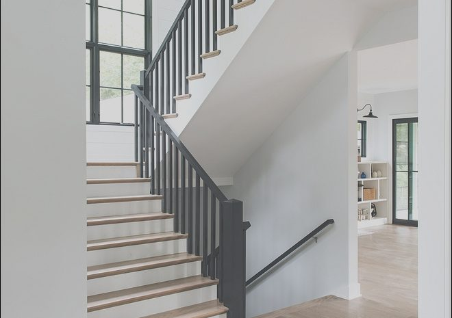 14 Interesting Modern Farmhouse Stairs Photography