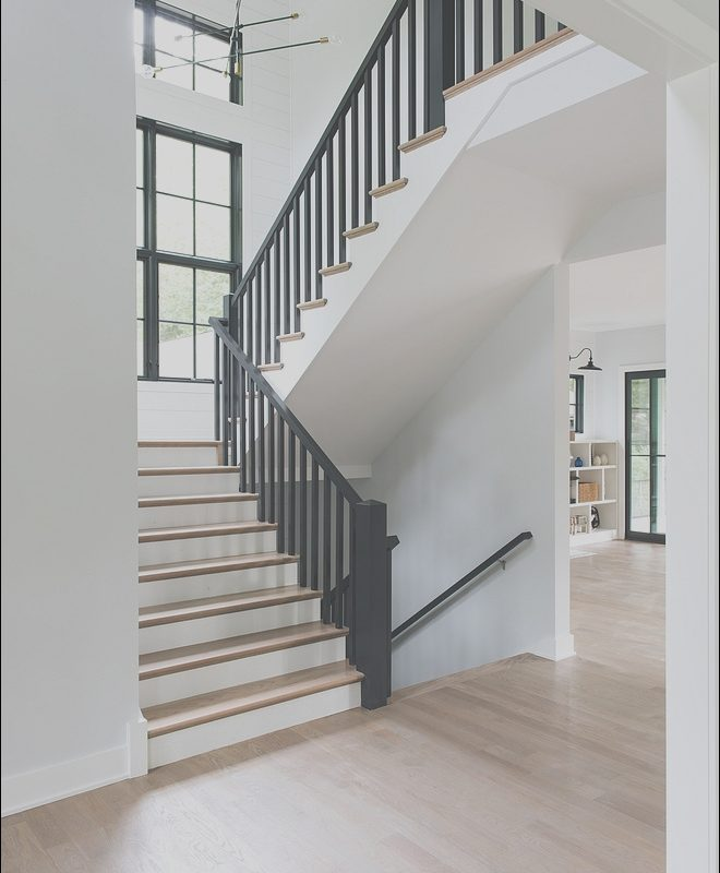 Modern Farmhouse Stairs Lovely Modern Farmhouse House tour