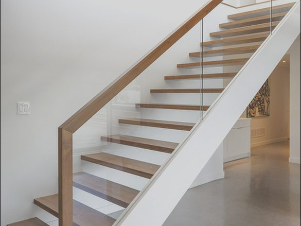 9 Impressive Modern Hardwood Stairs Photos