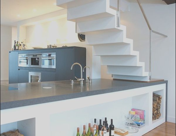 12 Luxurious Modern Kitchen Under Stairs Collection
